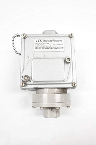 (CUSTOM CONTROL SENSORS 604V1 Pressure Switch 3/4IN 250PSI 480V-AC)