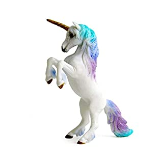 Warmtree Unicorn Figurines Mythical Animals Model Flying Horse Action Figures for Home Decoration Collection Toys (Standing Unicorn)