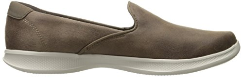 Step Lite Women's Go Taupe Flat Performance Skechers Determined Loafer Ux6Htztqw