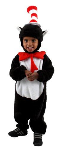 [elope Dr Seuss Deluxe Cat in the Hat Infant Costume] (Dr Seuss Baby Halloween Costumes)