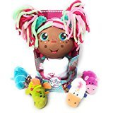 AFRICAN AMERICAN FLIP ZEE GIRLS ZOEY KITTY THE BABY THAT FLIPS FOR YOU COMES WITH 1 BONUS LITTLE FLIP ZEES PLUSH ANIMAL (LITTLE FLIPZEES MAY VARY ASSORTED) (Walmart American Girl Dolls)