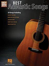 - Hal Leonard Best Acoustic Songs - Easy Guitar With Notes & Tab Series