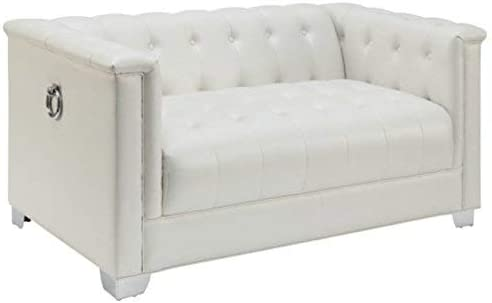Coaster Tufted Loveseat