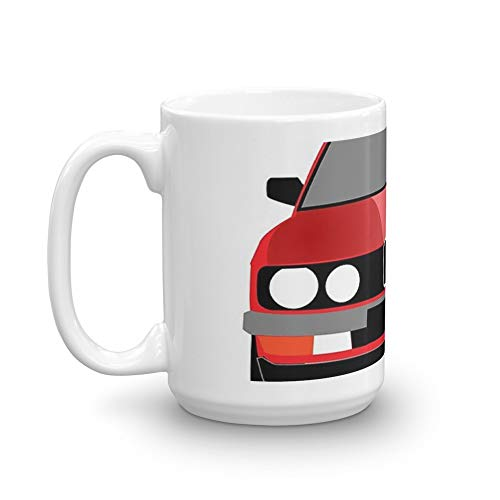 (e28 classic german car 15 Oz White Ceramic)