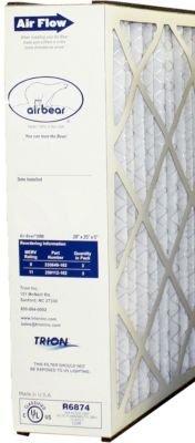 Trion Air Bear Genuine OEM Replacement Media Filter 259112-102 (20x25x5)(MERV (Trion Air Bear Media Filter)