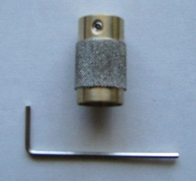 3/4'' Diamond Stained Glass Grinder Head Bit Quality Brass Core by CAS