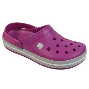 4da84ffba Crocs Crocband Violet   Light Grey - Adult Unisex 8 uk  Amazon.co.uk  Shoes    Bags