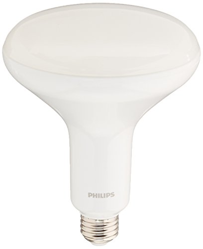 Philips LED Philips 457010 9w BR40 LED Dimmable Flood Soft White Bulb-65w equiv (Led Br40)