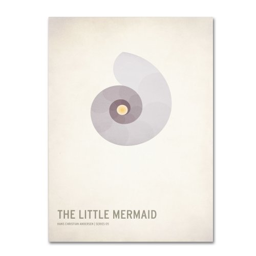 - The Little Mermaid  by Christian Jackson, 16 by 24-Inch Canvas Wall Art