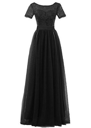 long black poofy prom dresses - 4