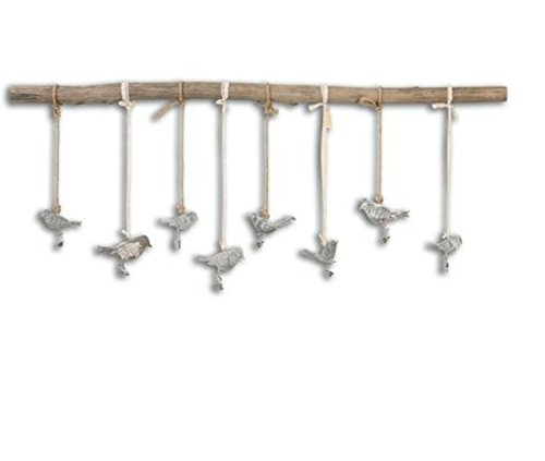 Uttermost 13885 Birds on a Branch Wall Art, Brown