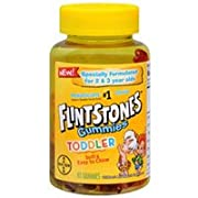 Flintstone Vitamin Toddler Gummies 80ct (Pack of 2)