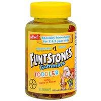 Flintstone Vit Toddler Gu Size 80ct Flintstone Vitamin Toddler Gummies 80ct
