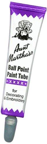 Aunt Martha's Ballpoint Paint Tubes 1 Ounce-Purple