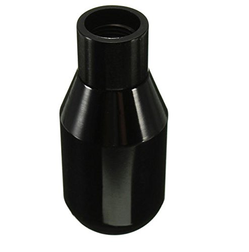 MD Group Car Gear Shift Knob Manual Stick 5 Speed Aluminum Stick Shifter Adapter