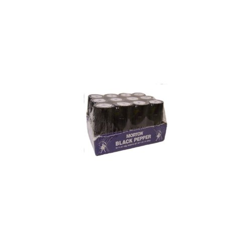 Morton Shakers, Black Pepper, 1.5 Ounce (Pack of 12) by Morton (Image #2)