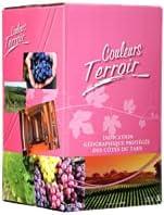 """Cubito Pais de Costillas de Tarn Rosado""""color terruño"""" 10 litros, con grifo."""