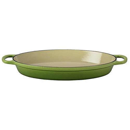 Le Creuset Enamel Cast Iron Signature Oval Baker, 2.25 quart, Palm by Le Creuset