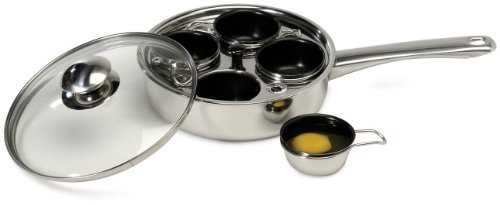 Excelsteel Stainless Non Stick Poacher