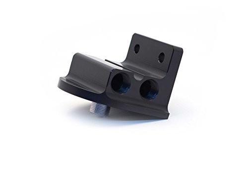Canton Racing Products 22-625 Billet Aluminum Remote Oil Filter Mount by Canton Racing Products (Image #2)