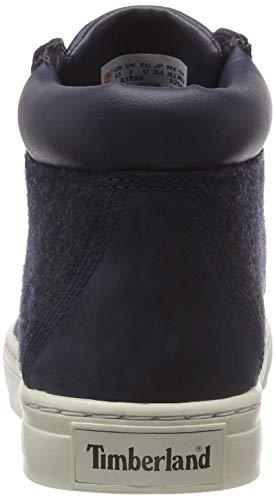 And Blu Iris Dauset Timberland Uomo Chukka 19 Stivali Wool Black Nubuck xq487Z