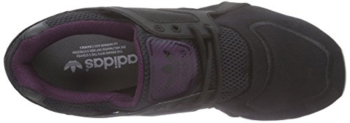 adidas Originals Racer Lite, Baskets Basses Mixte Adulte Noir - Schwarz (Core Black / Core Black / Merlot)