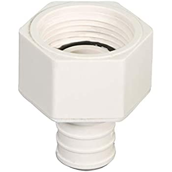 """50 1//2/"""" PEX x 1//2/"""" Swivel FNPT Adapters Poly Alloy Lead-Free Crimp Fittings"""