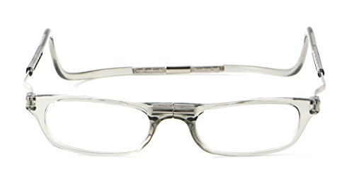 Clic XXL Magnetic Reading Glasses in smoke, +3.00 in the ...