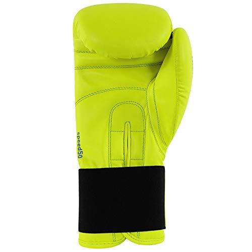 buy online 1e1de 39e65 Adidas Speed 50  adisbg50  Guantoni da Boxe, Giallo  Blu, 6  oz 6 oz ADIDR   adidas