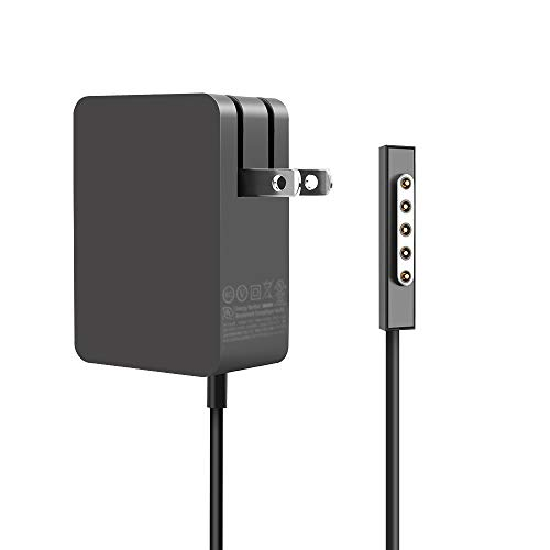 24W 12V 2A Portable Charger Power Supply for Microsoft Surface RT Surface Pro 1 and Surface 2 1512 Charger, by HESSURE