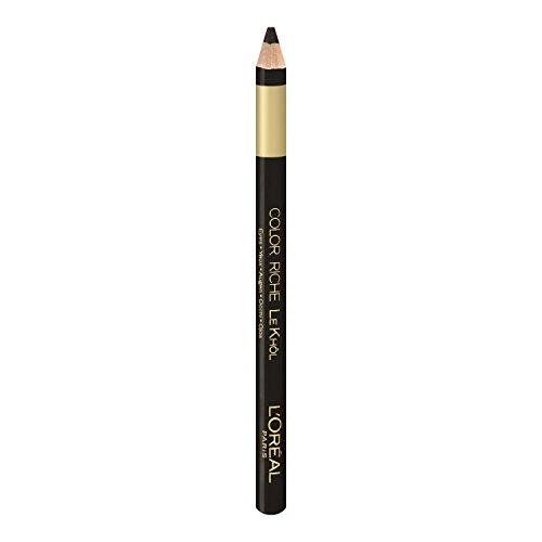 L'Oréal Paris Color Riche Le Khôl, 101 Midnight Black - präziser und farbintensiver Kohl Kajal für perfekt betonte und ausdrucksstarke Augen, 1er Pack (1 x 1,1,5 g)