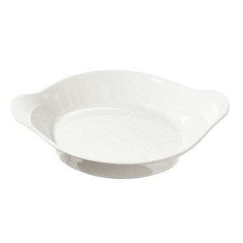 La Porcellana Bianca Arezzo Au Gratin Pan, Set of 8, 7''