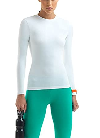 Lupo women 39 s long sleeve 50 uv sun protection for Sun protection t shirts