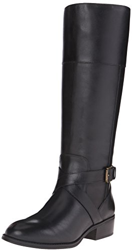 Lauren Ralph Lauren Women's Maryann Riding Boot, Black, 9.5 B US by Lauren by Ralph Lauren