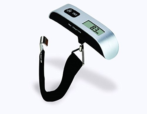 Imner 110lb/50kg Electronic Digital Postal Luggage Hanging Scale W/ Temperature Sensor And...