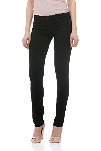 Suko Jeans Skinny Jeans For Women Stretch Denim 17422 Black (510 Super Skinny Jean)