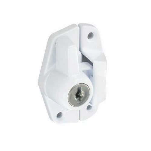 Securit Bloqueo Sash sujetador blanco 65mm