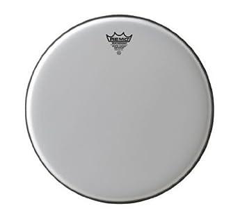 """Remo 12/"""" Black Suede Ambassador Drum Head"""