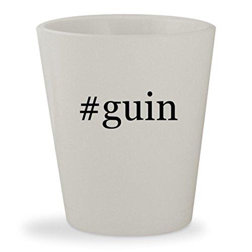 #guin - White Hashtag Ceramic 1.5oz Shot - Guinness Lulu By Lulu Sunglasses