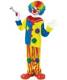 Clown Boy Child Costumes (Big Top Clown Child Costume - Medium)