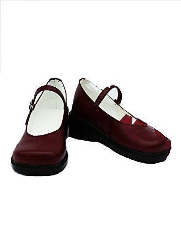 black Butler cosplay costume Elizabeth Middleford Boots Boot Shoes (Black Butler Elizabeth Cosplay Costumes)