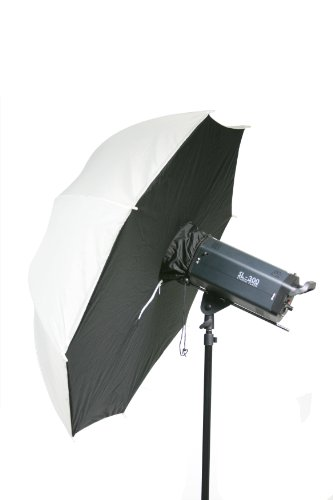Fancierstudio 43 inch White/Black Translucent Umbrella Brolly Box Softbox Diffuser