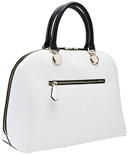 Landon Multi white Mujer De Bolsos Dome Guess Mano Satchel Multicolor PxCw4qdq