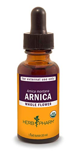 Herb Pharm Certified Organic Arnica Liquid Extract for Minor Pain Support - 1 Ounce