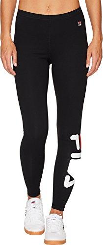 Fila Women's Karlie Tight Pants, Black, S by Fila (Image #1)