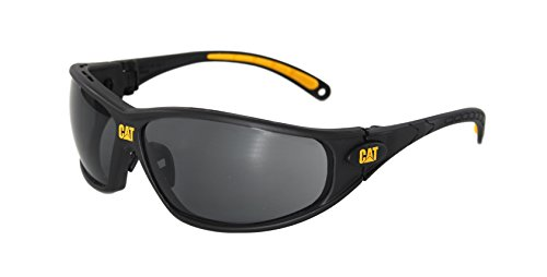 Caterpillar CSA-TREAD-104-AF Filter Category 5-2.5 Smoke Lens Safety Glasses, - Caterpillar Sunglasses