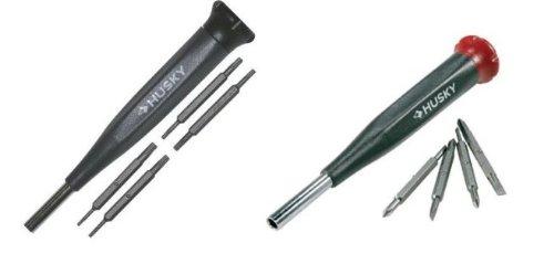 Husky Precision Screwdriver 2-Set Bundle - Phillips/Slotted and Torx