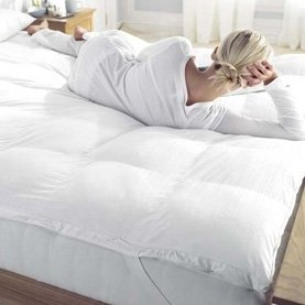 Nights Hotel Quality Luxury Duck Feather Down Single Size Mattress