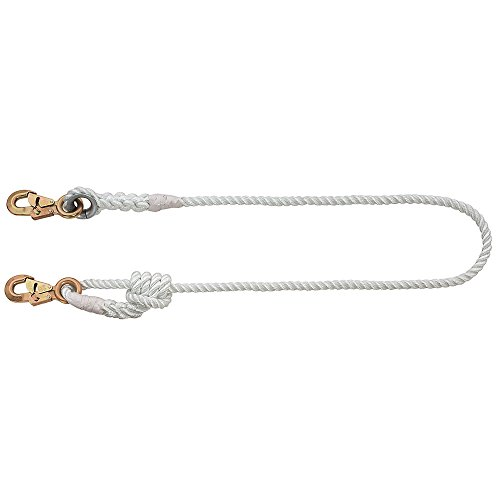 Klein Tools 87430 4 to 6 Feet Adjustable-Length Nylon-Filament Rope Lanyard