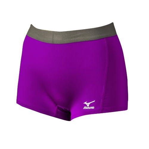 Mizuno G2 Front Flat S Women' Purple nbsp;shorts wrqwBf